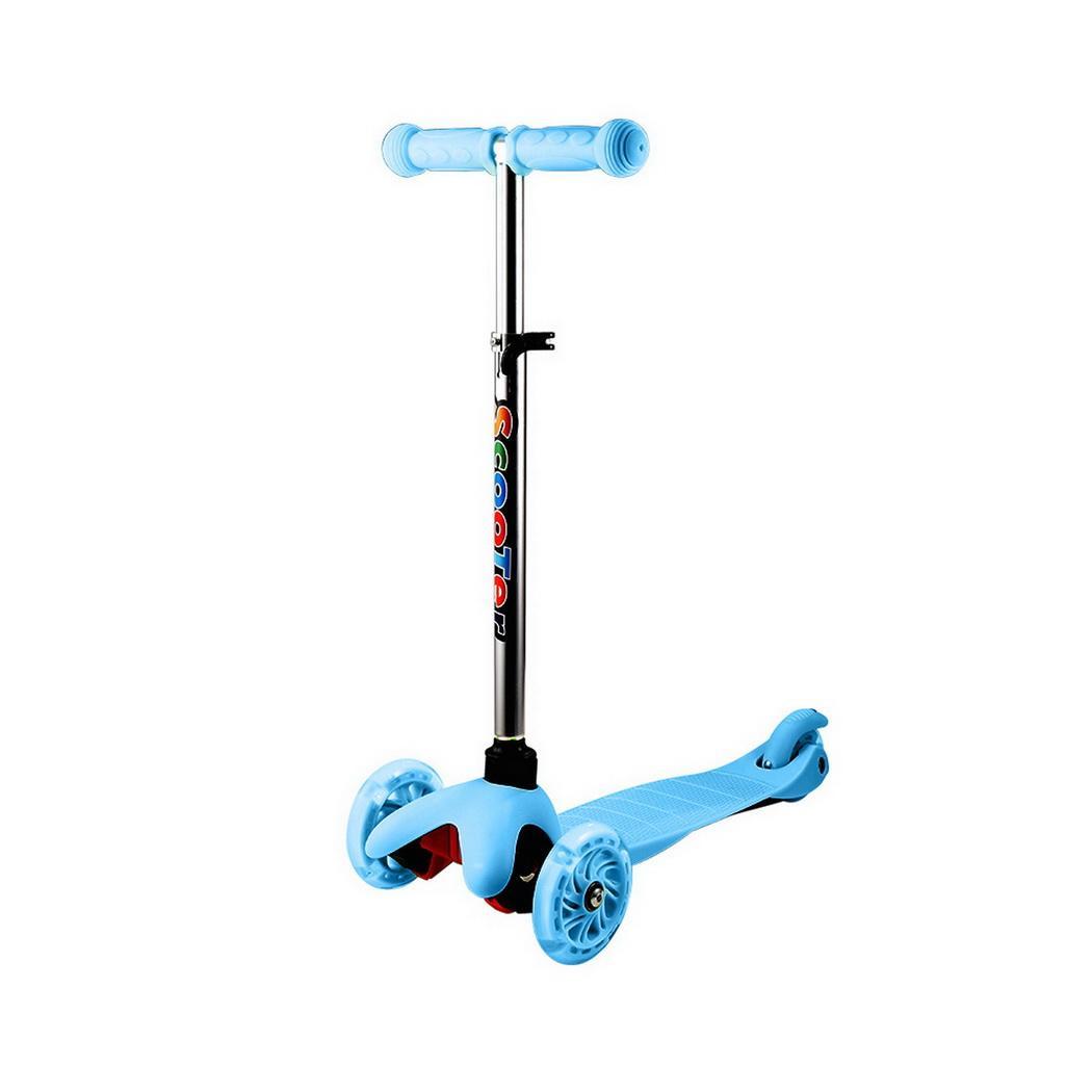 Kinderscooter Kinderroller Scooter 3 Räder mit PU Leuchträdern für Mädchen l 06